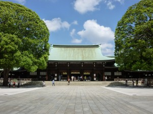 The main shrine building