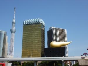 Asahi Brewery buildings