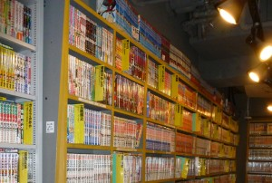 Inside one of the many outlets of Mandarake in Nakano Broadway
