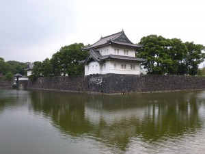 The walls of the Imperial Palace grounds